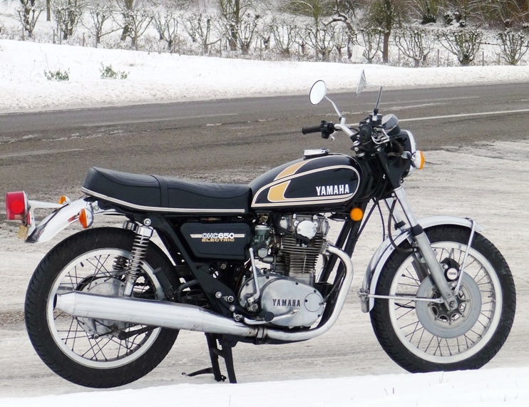 YAMAHA XS 650 Type 447 - 1975 - Photo DR ©Jean-Louis Gayot