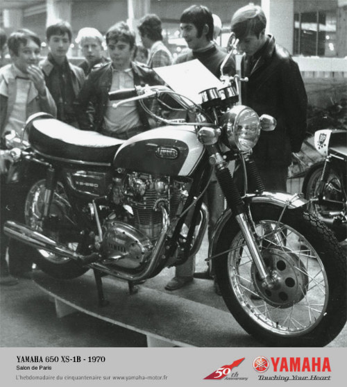 YAMAHA 650 XS-1B - 1970 Salon de Paris